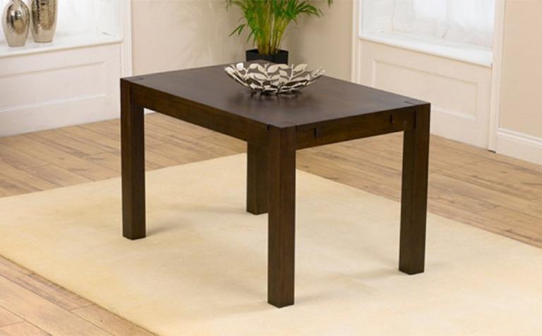 Dark Wood Dining Tables Seats 4