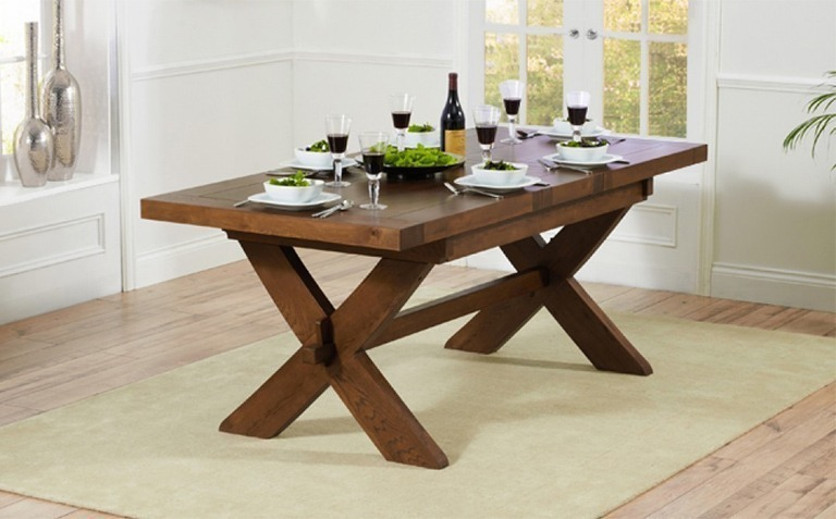 Dark Wood Dining Tables Seats 6