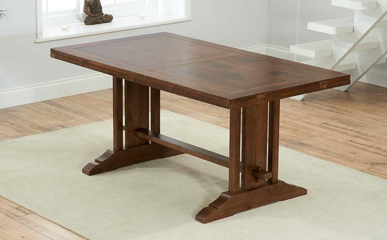 View All Dark Wood Dining Tables
