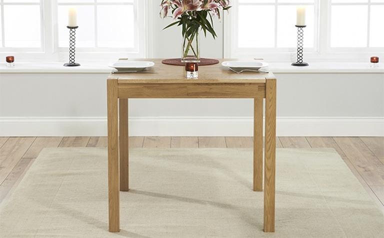 Oak Dining Tables Seats 2
