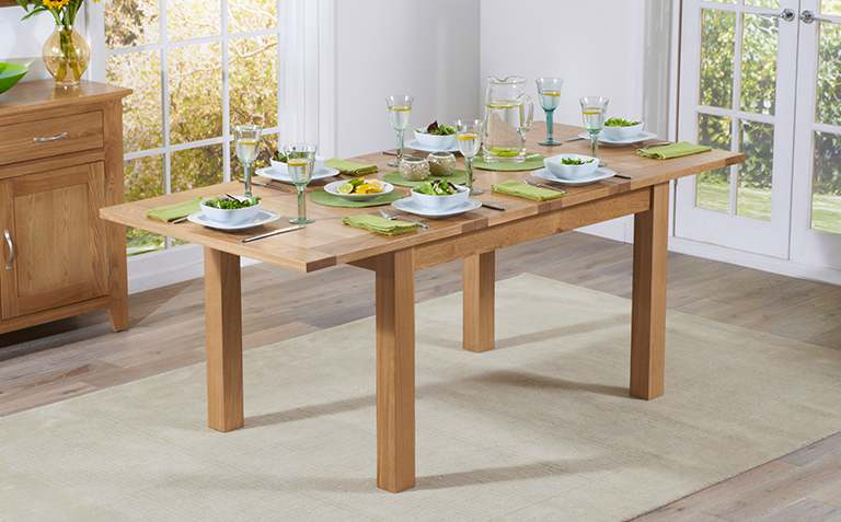 View All Oak Dining Tables