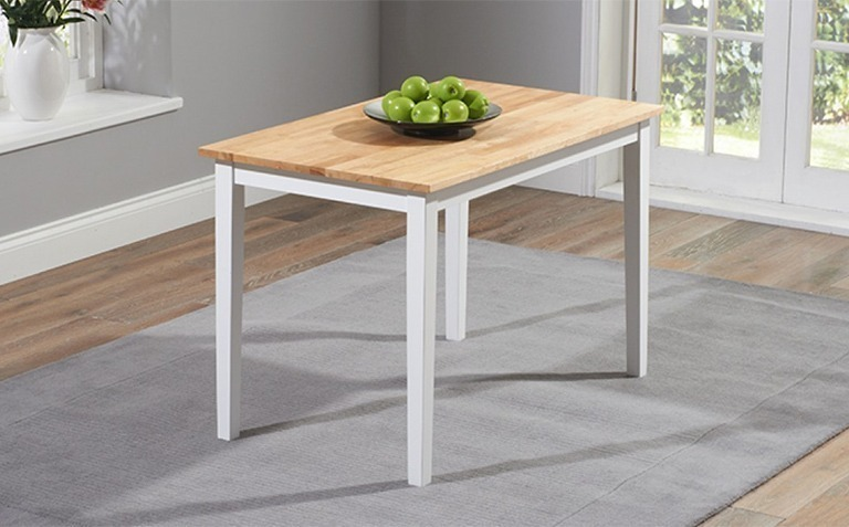 Oak and White Painted Dining Tables