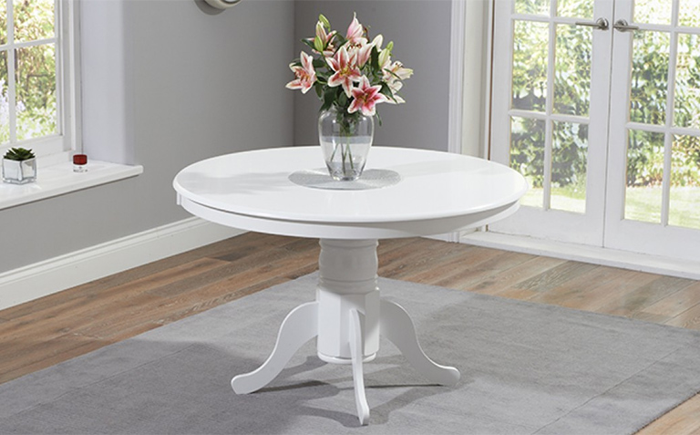 White Painted Dining Tables