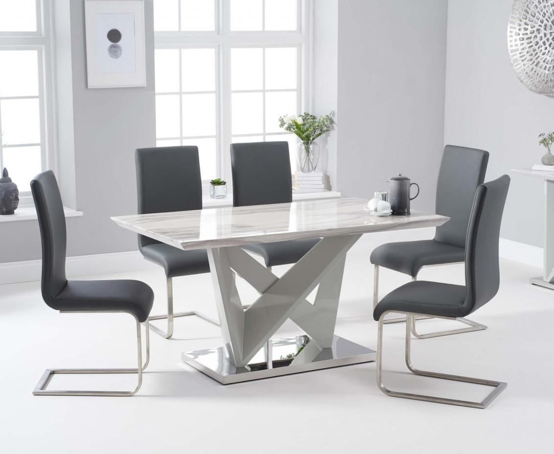 Medium High Gloss Dining Table Sets
