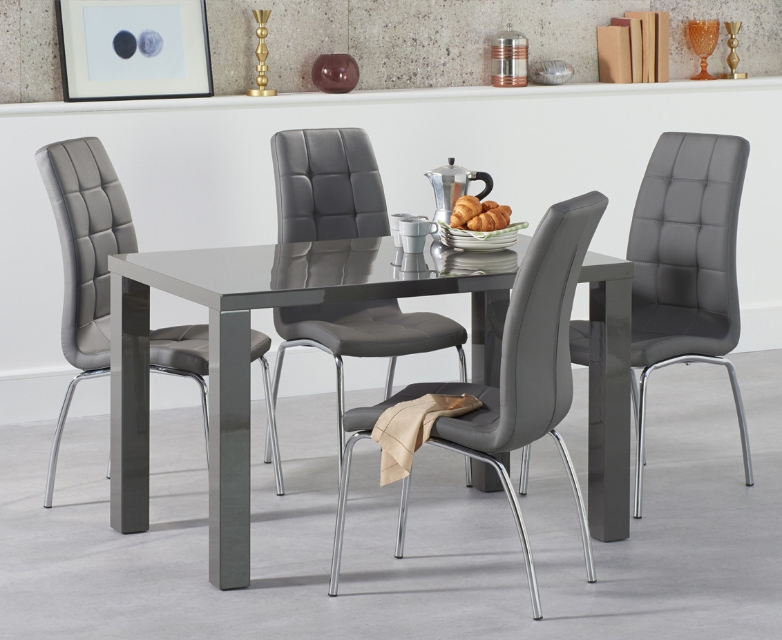 High Gloss Dining Table Sets   Great Furniture Trading Company