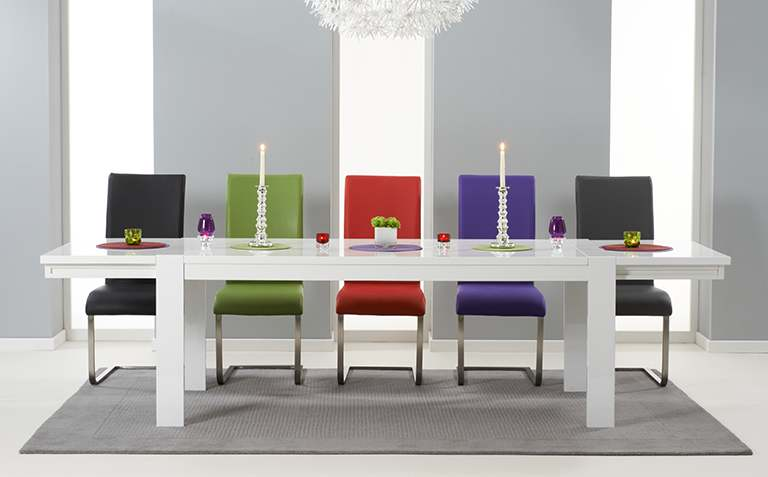 High Gloss Dining Table Sets