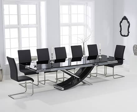 Extending Glass Dining Table Sets