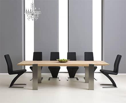 Extending Oak Dining Table Sets