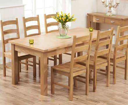 View All Oak Dining Sets