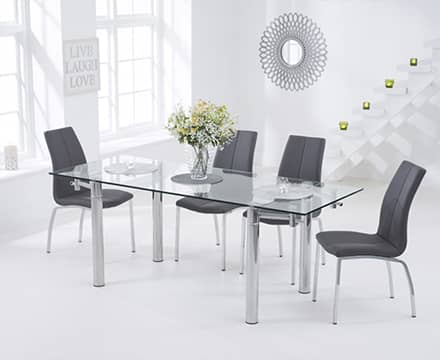 View All Glass Dining Sets