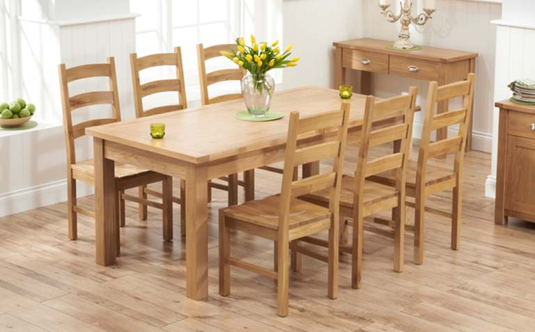 Dining Table Sets The Great Furniture Trading CompanyOak dining room set. Dining Room Set Light Oak. Home Design Ideas