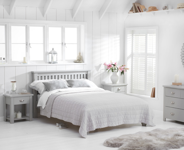 Somerset Grey Double Bed