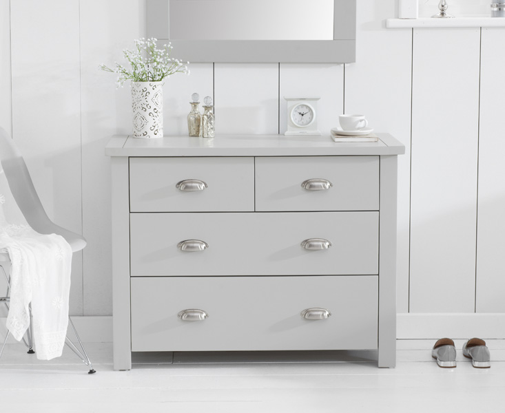 Somerset Grey 2 Over 2 Drawer Chest