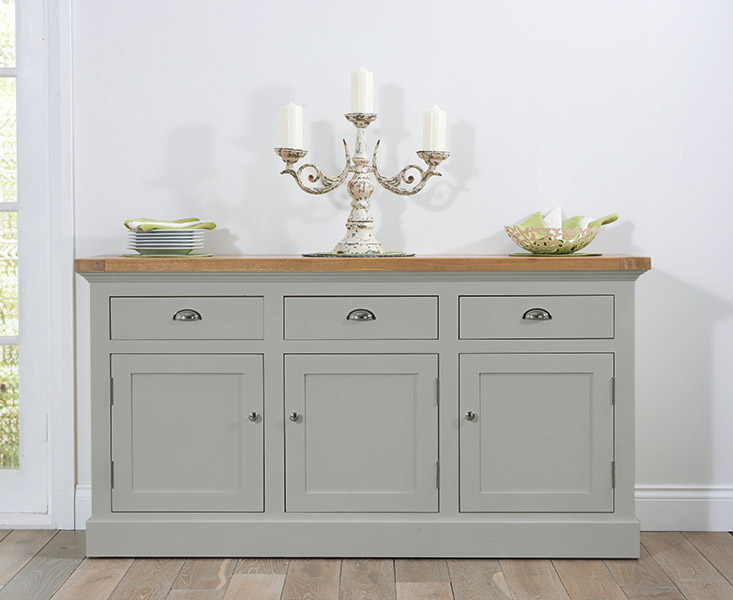 Cavendish/Torino Oak & Grey Large Sideboard