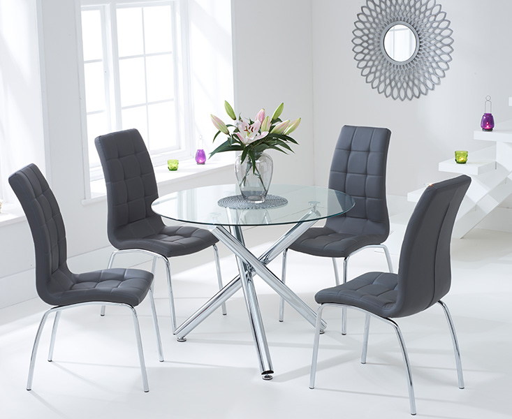 Contemporary Round Dining Table Shop For Cheap Tables