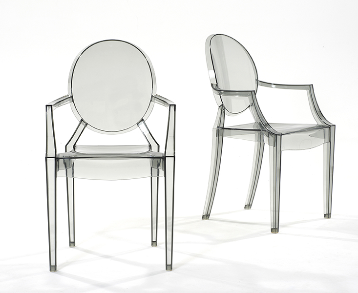 Photo of Transparent black ghost chairs