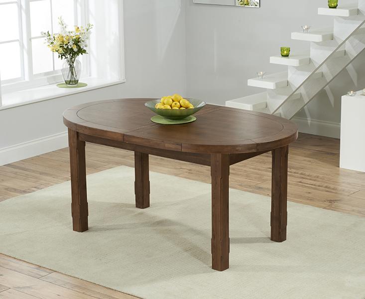 Chelsea Dark Oak Extending Dining Table