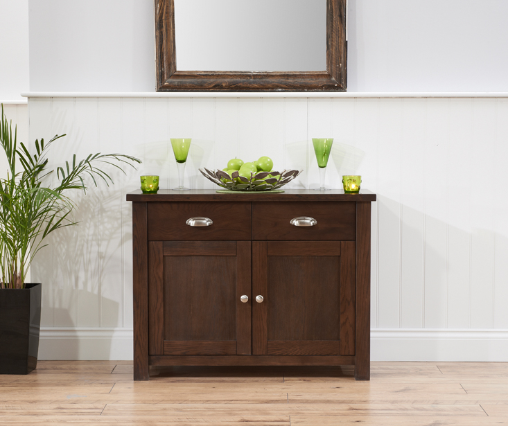 Somerset 2 Door 2 Drawer Dark Oak Sideboard