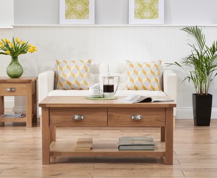 Somerset Oak Coffee Table