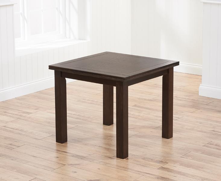 Somerset 90cm Flip Top Dark Oak Dining Table