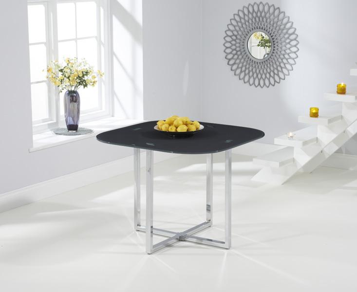 Algarve Grey Glass Dining Table