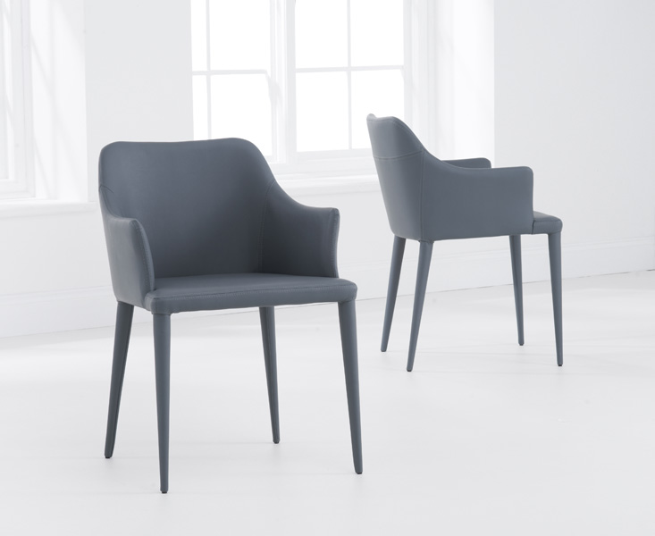 Cuba Charcoal Grey Dining Chairs
