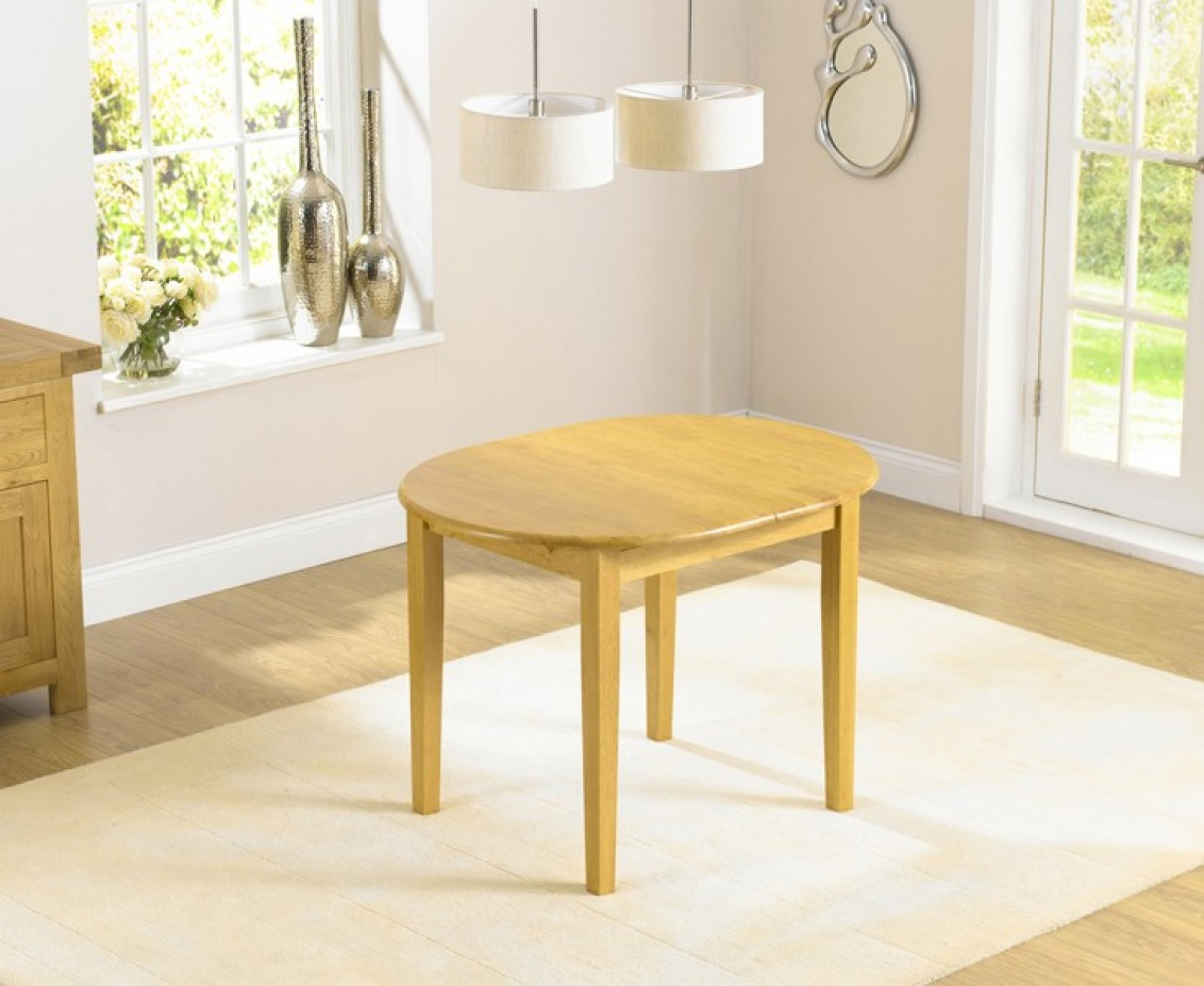 An image of Amalfi Oak Dining Table