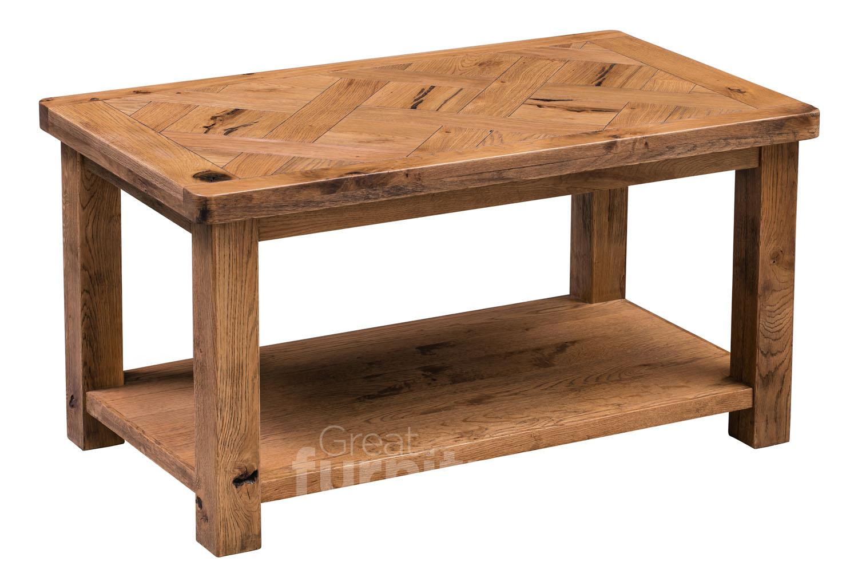 Huari Solid Oak Coffee Table