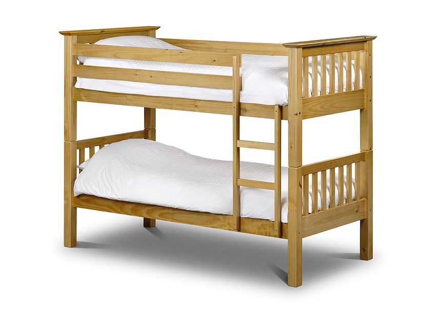 Basel Solid Pine Bunk Bed