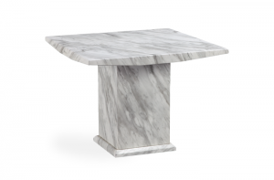 Calacatta 100cm Square Marble Dining Table