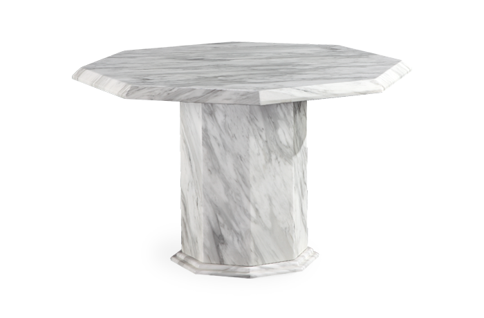 Calacatta Octagonal Marble Dining Table
