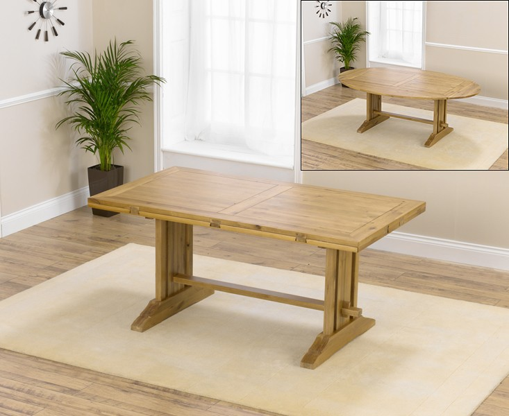 An image of Cavendish 165cm Oak All Sides Extending Table