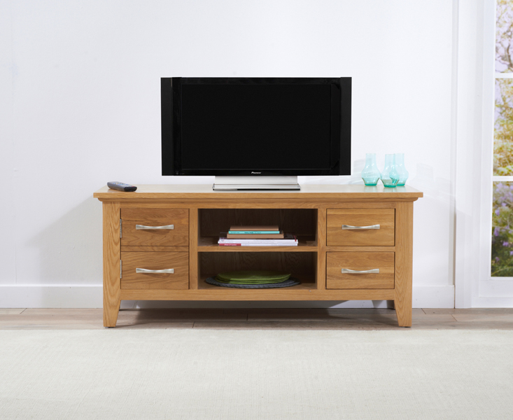 Cheadle 120cm Oak TV Unit
