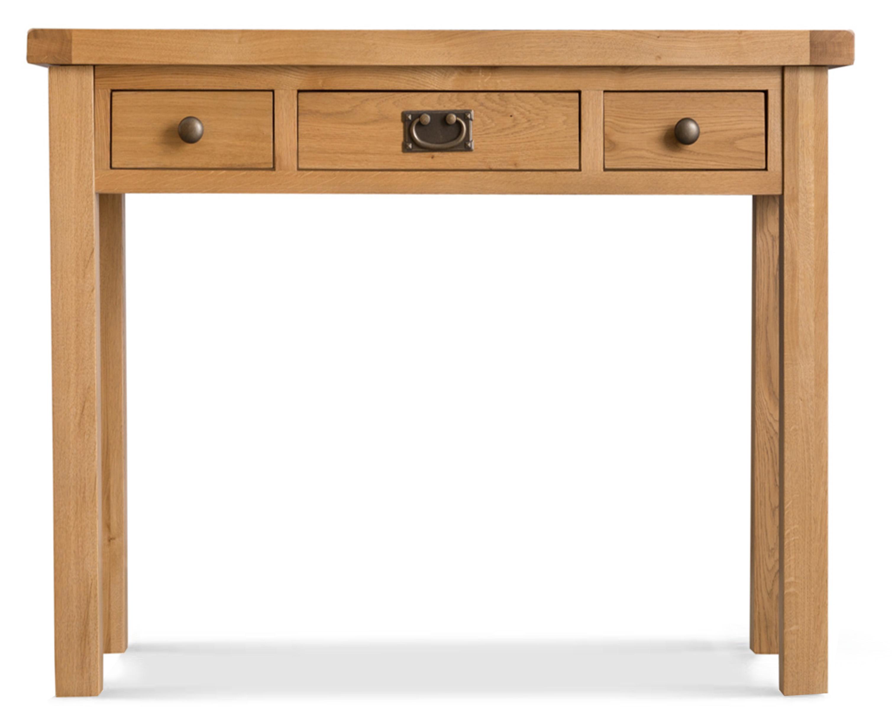 Product photograph showing Sasha 3 Drawer Dressing Table