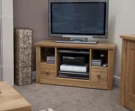Reno Oak Corner TV Cabinet