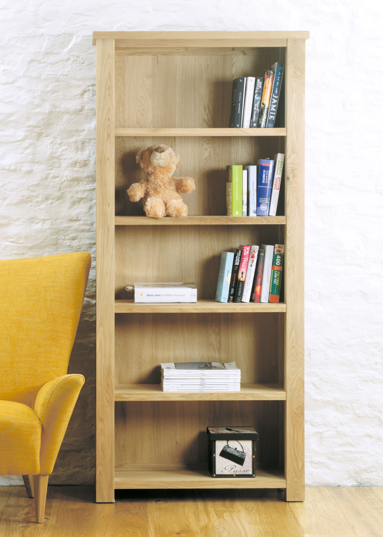 Aston 180cm Oak Bookcases