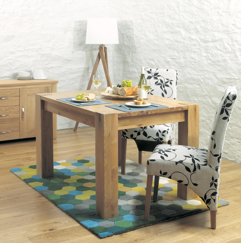 Aston 120cm Oak Dining Table