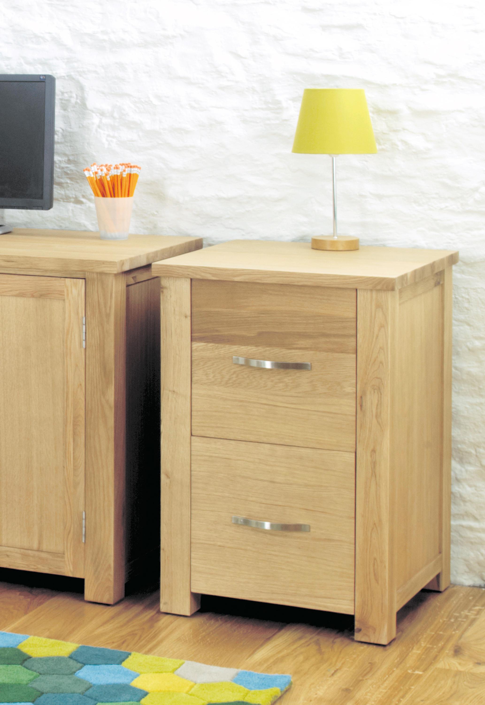 Aston Oak Filing Cabinet