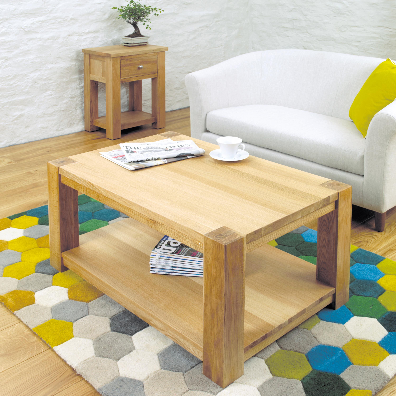 Aston 90cm Oak Coffee Table