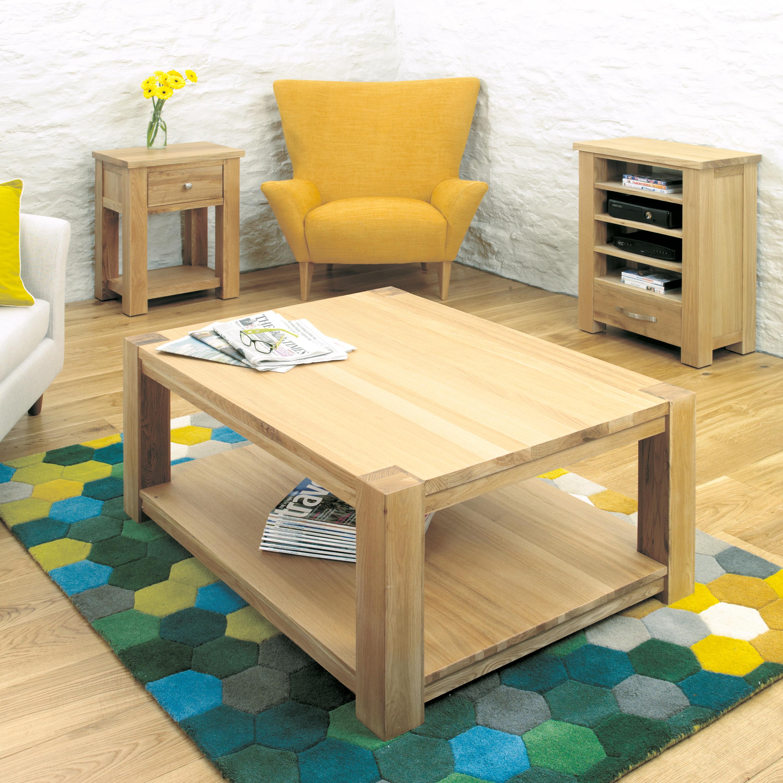Aston 100cm Oak Coffee Table