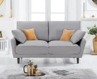 Casa Grey Linen 2 Seater Sofa