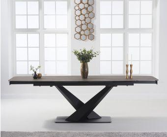 Joshua 180cm Extending Mink Ceramic Dining Table