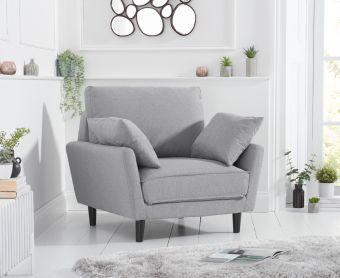 Casa Grey Linen Armchair