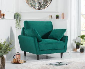 Casa Green Velvet Armchair