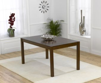 Oxford Dark Solid Oak 150cm Dining Table