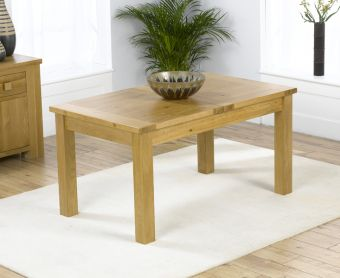 Normandy 120cm Solid Oak Extending Dining Table
