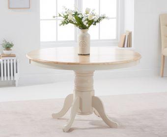 Epsom Cream Dining Table