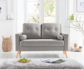 Jennifer Grey Velvet 2 Seater Sofa