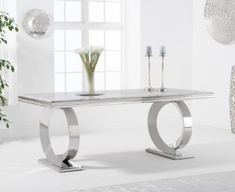 Hyde 180cm Marble Dining Table
