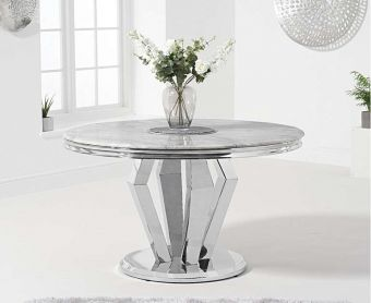Veneziana 130cm Round Marble Dining Table